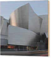 Walt Disney Concert Hall 17 Wood Print