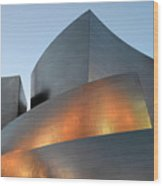 Walt Disney Concert Hall 19 Wood Print