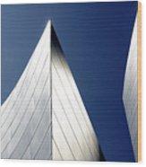 Walt Disney Concert Hall 41 Wood Print