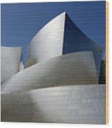 Walt Disney Concert Hall 45 Wood Print