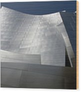 Walt Disney Concert Hall 48 Wood Print