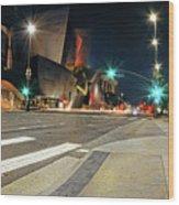 Walt Disney Concert Hall - Los Angeles Art Wood Print