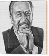 Walt Disney Wood Print