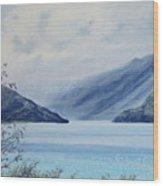 Wanaka Lake Wood Print
