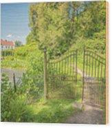 Wanas Castle Secret Gate Wood Print
