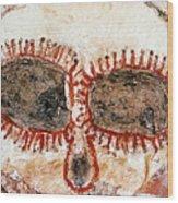 Wandjina Face Wood Print