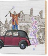 Wandmaster On The Beardmore Wood Print