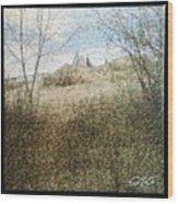 Wanuskewin Heritage Park Mosaic Wood Print