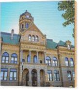 Wapakoneta Ohio Court House Wood Print