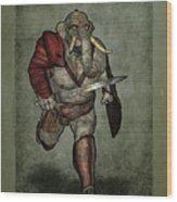 War Beast Wood Print