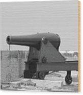 War Gun Wood Print