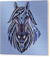 War Horse 3 Wood Print