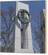 War Memorial D.c. Wood Print