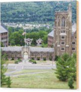War Memorial Lyon Hall Cornell University Ithaca New York 01 Wood Print