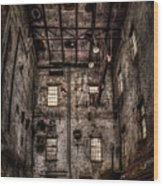 Warehouse  Wood Print