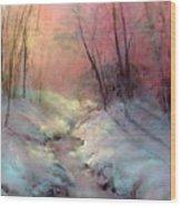 Warm Glow Wood Print