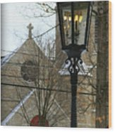 Warm Winter's Light Wood Print