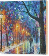 Warmed By Love Wood Print