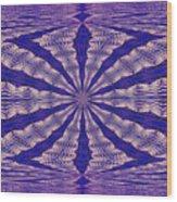 Warped Minds Eye Wood Print