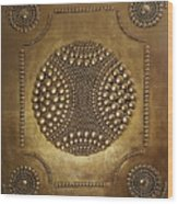 -  Warrior Crest   - Wood Print