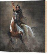 Warrior Wood Print