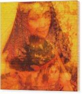 Warrioress 3 Wood Print