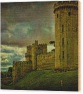 Warwick Castle Wood Print by Chris Lord