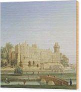Warwick Castle Wood Print by Francis Harding