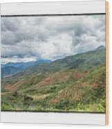 Wasatch Mountains Wood Print