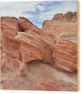 Wash 3 Beehives In Valley Of Fire Wood Print