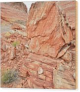 Wash 3 Of Valley Of Fire Wood Print