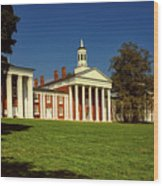 Washington And Lee University Wood Print