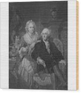 Washington At Home Wood Print