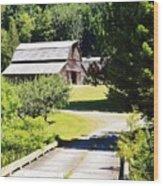 Washington Country Barn Wood Print