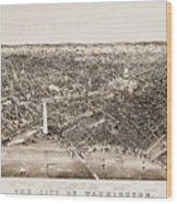 Washington D.c., 1892 Wood Print by Granger