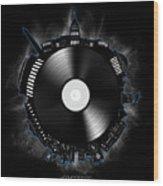 Washington Dc Skyline Vinyl 10 Wood Print