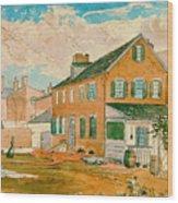 Washington D.c. Square 1874 Wood Print