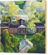 Washington Hall At Washington And Lee University Wood Print