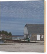 Washington Island Harbor 1 Wood Print