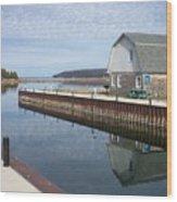 Washington Island Harbor 2 Wood Print