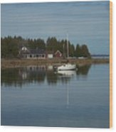 Washington Island Harbor 3 Wood Print