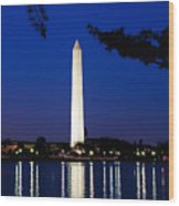 Washington Monument Wood Print