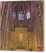 Washington National Cathedral IIi Wood Print by Irene Abdou