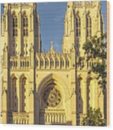 Washington National Cathedral Wood Print