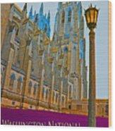 Washington National Cathedral Travel Wood Print