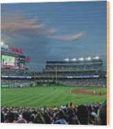 Washington Nationals In Our Nations Capitol Wood Print