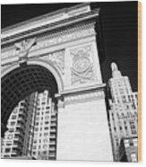 Washington Square Arch Wood Print