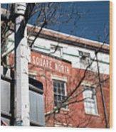Washington Square North Wood Print