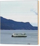 Washington State Ferry Wood Print