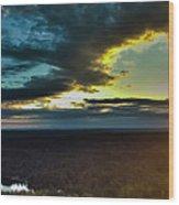 Washington Sunset Wood Print